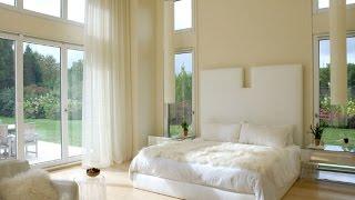 Интерьер комнаты в белых тонах