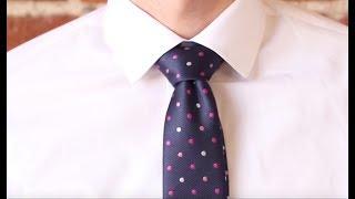 Cách thắt cà vạt kiểu truyền thống Windsor - CAVAT.COM