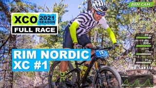 2021 Rim Nordic XC #1 | Pro Men | Full Race