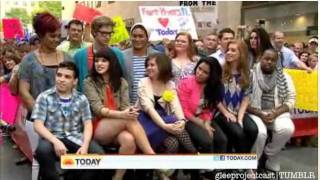 The Glee Project Cast on the Today show - Interview