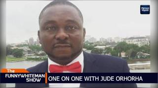 FUNNYWHITEMAN SHOW: One on one with Jude Orhorha (Nigerian News)