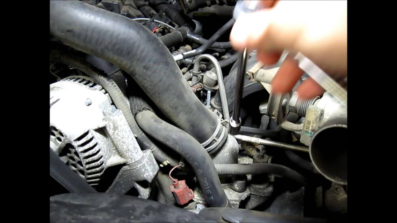 small resolution of 2002 ford ranger edge 3 0 radiator and thermostat replacement