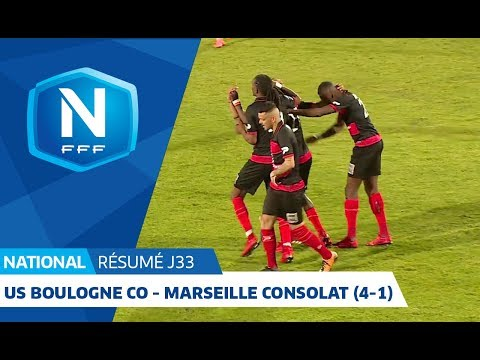 J33 : US Boulogne CO - Marseille Consolat (4-1), le résumé I National FFF 2018