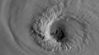 Satellite footage shows eye of Hurricane Florence moving closer to Carolinas