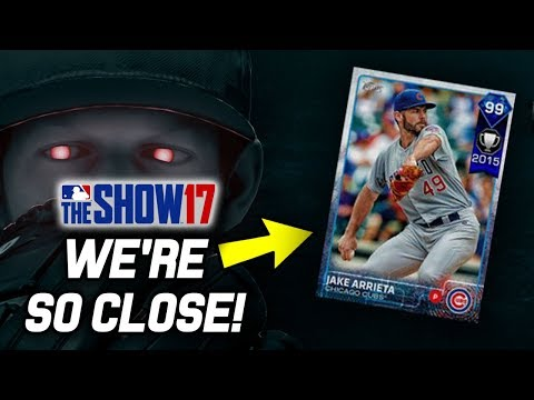 99 JAKE ARRIETA IS ALMOST OURS! (30/40 WINS) | MLB The Show 17 Diamond Dynasty Events