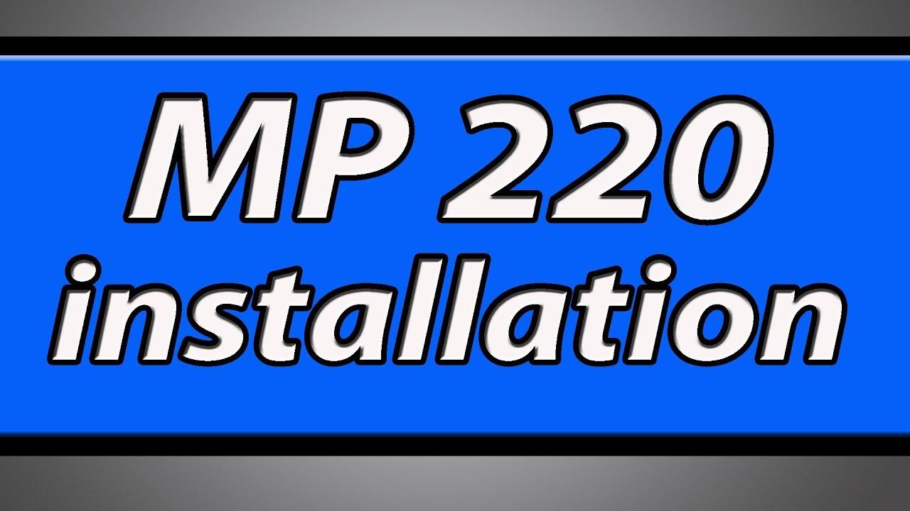 Canon pixma mp220 driver download.