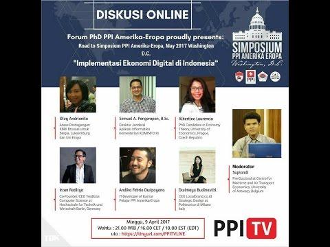 [LIVE] Diskusi Online : Implementasi Ekonomi Digital di Indonesia