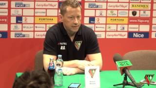 Konferencja prasowa po meczu Zagłębie Sosnowiec - Znicz Pruszków (0:3)
