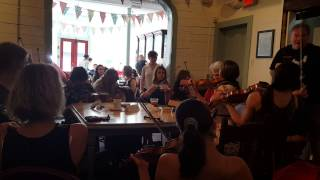 Traditional Music Jam at Rocket Bakery, St. John