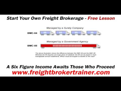 Becoming A Licensed Freight Broker - Obtaining Your Property Broker Authority With The FMCSA