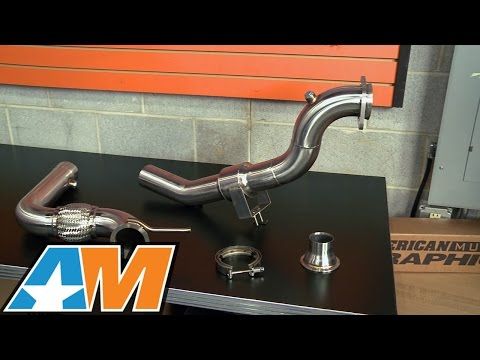 2015-2017 Mustang Mishimoto Down Pipe - Catted/Off-Road (Ecoboost) Review from YouTube · Duration:  5 minutes 42 seconds