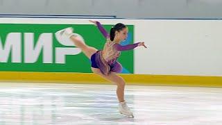 Анастасия Морозова Произвольная программа Йошкар Ола Кубок России по фигурному катанию 2021