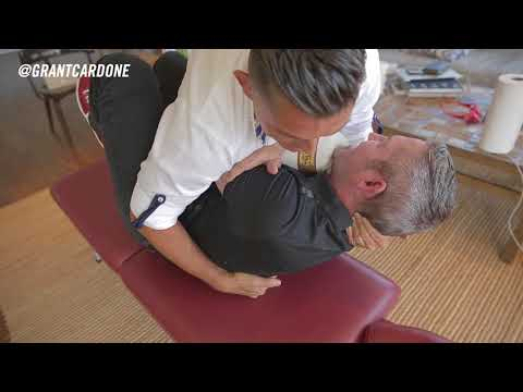 The Greatest Chiropractic Adjustment of All-Time - Grant Cardone