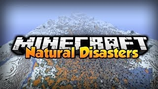 Minecraft - Mod Showcase - Natural Disasters