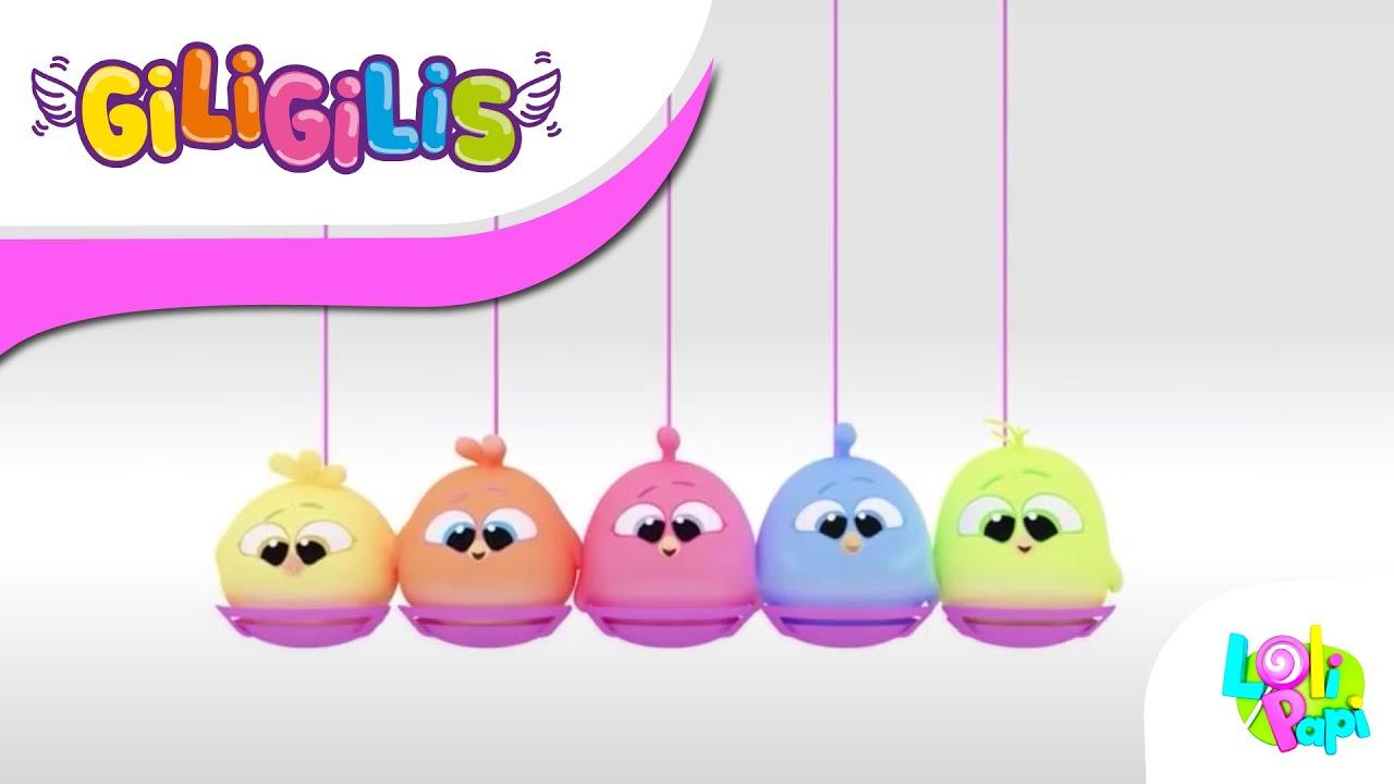 Funny Cartoons | Giligilis | Kids Song & Baby Songs |Nursery Rhymes by  Lolipapi