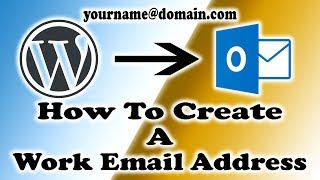 How To Setup A Business Email Address On Outlook 2016