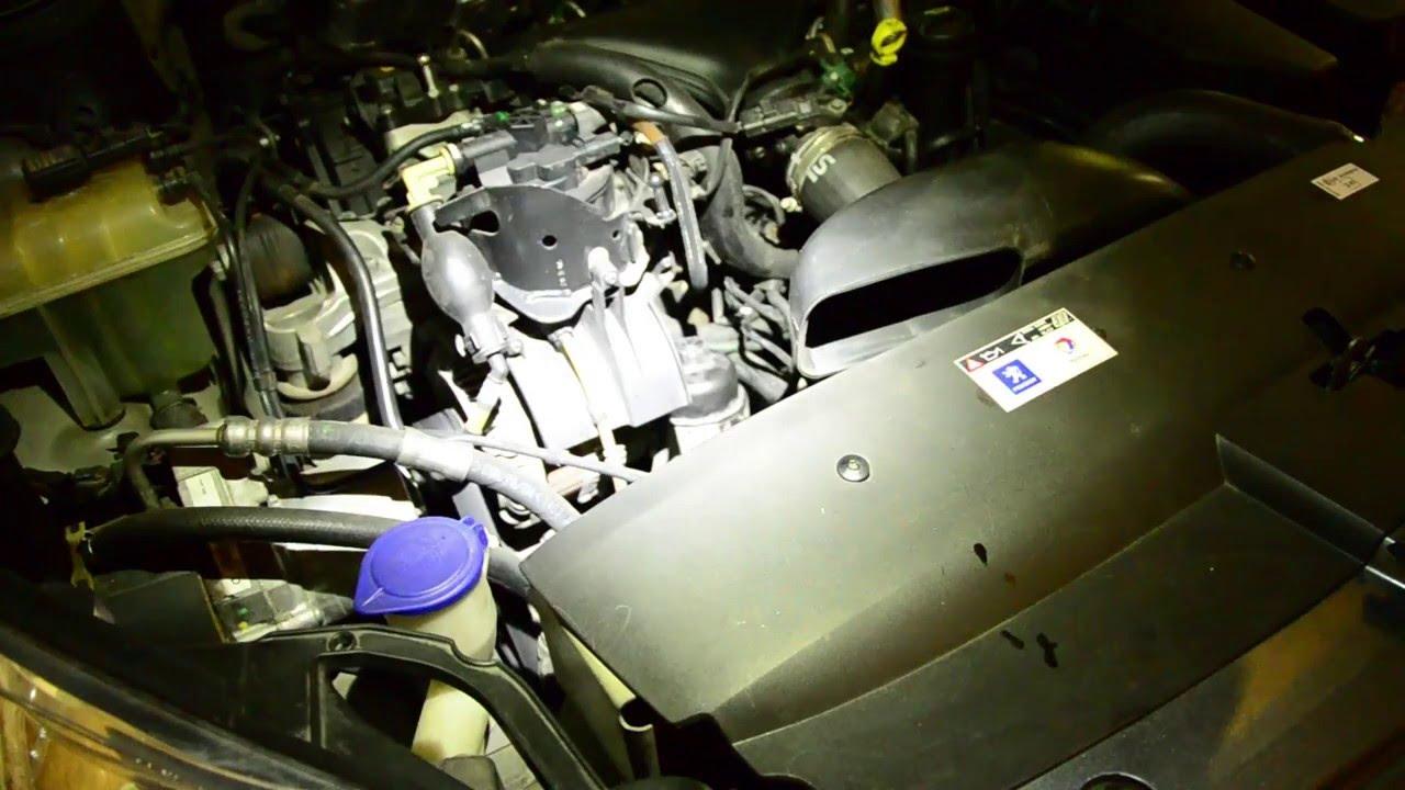 Filtres Vidange Peugeot 407 2 0 Hdi Youtube