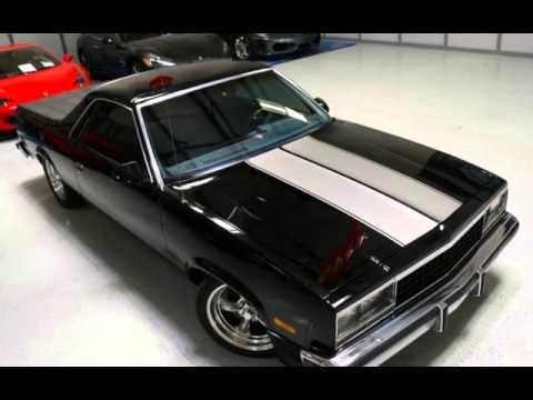 1986 Chevrolet El Camino SS for sale in Gardena CA  YouTube
