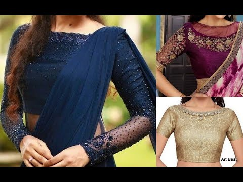 latest-boat-neck-blouse-designs---new-designer-saree-blouses-collection-2020