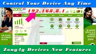 Zong 4G Devices New Advance Features Reviews