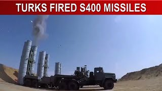 TURKS FIRED S400 MISSILES - NEVER ! DON'T TEST US...TURKISH ARMY POWER
