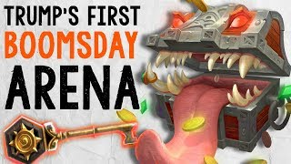 TRUMP'S FIRST BOOMSDAY ARENA EXPERIENCE! | Boomsday Arena | Hearthstone