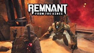 Remnant: From The Ashes - Ancient Construct Boss Battle [SOLO] | PC Gameplay