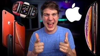 Erster Eindruck: iPhone XS, XS Max, XR & Apple Watch Series 4! - felixba