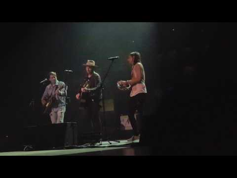 "Needtobreathe ""Stand By Me"" Seth Bolt singing in Edmonton, Canada"