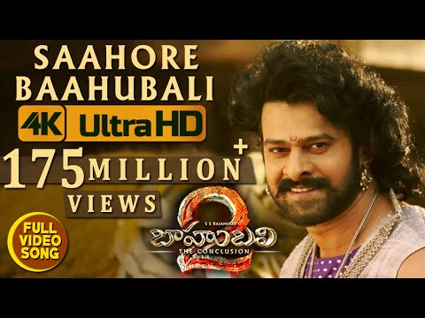 Thumbnail: Saahore Baahubali Full Video Song - Baahubali 2 Video Songs | Prabhas, Ramya Krishna