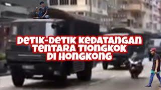 Download Video Detik-detik kedatangan tentara Tiongkok di Hongkong MP3 3GP MP4