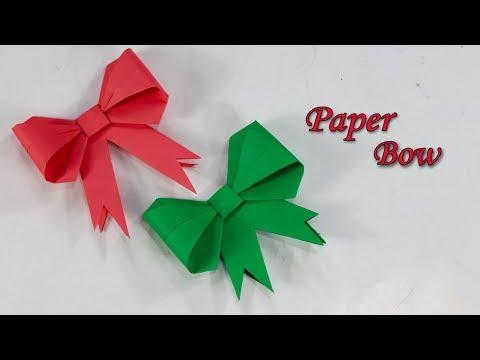 Origami Bow Folding Instructions | 360x480