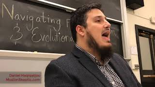 Navigating faith : science and evolution by ustadh Daniel