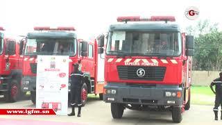 L'équipement de plus de 26 milliards remis aux sapeurs-pompiers