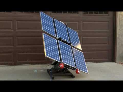 Meridian Folding Solar Panel Array