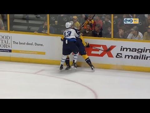 NHL Hits from Behind