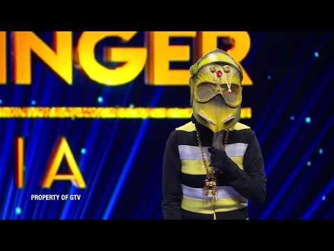 Jago! Ulet Hip Hip Bawain 'Havana' Juri Panelis Suka!   The Mask Singer Eps. 13 (5/11) GTV 2018