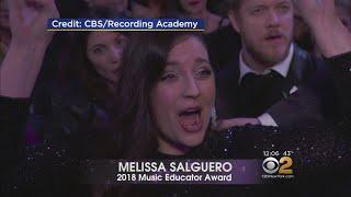Bronx Teacher Wins Grammy
