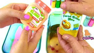 - ЧЕЛЛЕНДЖ ДЕСЕРТ ИЗ СЛАЙМА FOOD CHALLENGE DESSERT FROM SLIME Видео для Детей for kids