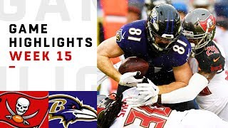 Buccaneers vs. Ravens Week 15 Highlights