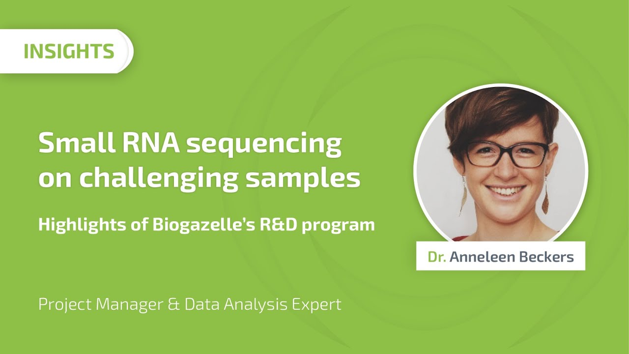 small rna sequencing on challenging samples highlights of biogazelles rd program