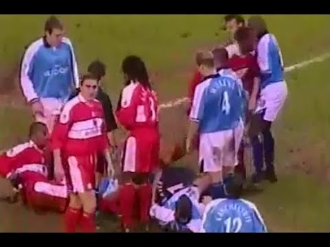 Middlesbrough v Manchester City 2000-01 FULL MATCH HIGHLIGHTS