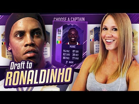 I GOT HERO MANE!! DRAFT TO RONALDINHO #9 - FIFA 18 ULTIMATE TEAM