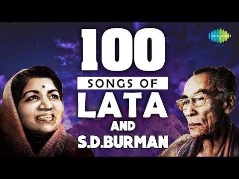 Top 100 Songs of Lata & S. D. Burman | लता और स डी बर्मन के १०० गाने | HD Songs | One Stop Jukebox