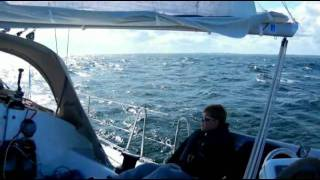 Wauquiez Opium 39 sailing part 1.mp4