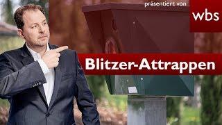 Darf ich Blitzer-Attrappen gegen Raser aufstellen? | Rechtsanwalt Christian Solmecke