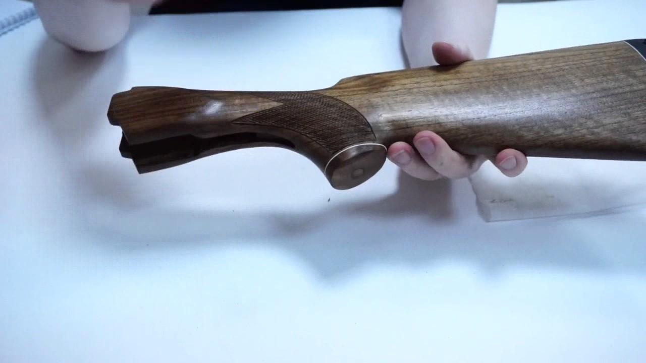 Приклад ТОЗ-БМ березовый шпон, Монте Карло - YouTube
