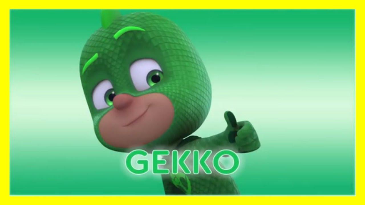 pj masks meet gekko  youtube gecko clipart free kids gecko clipart images
