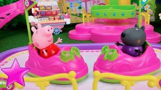 """Peppa Pig en español 22ª#""""Día en el Parque de atracciones""""Juguetes"""