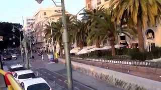 видео город Малага достопримечательности